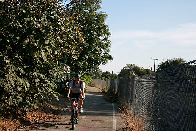Compton Creek Bike Path Compton Creek Bike Path