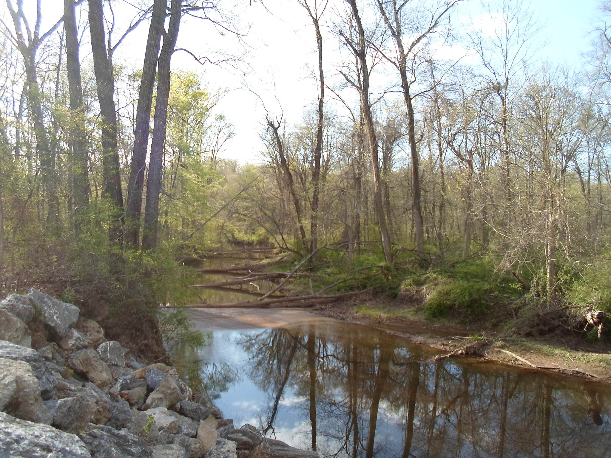 Conewago Recreation Trail Conewago Recreation Trail Beautiful reflections in the crystal clear waters of the Conewago Creek. Taken May 2015.
