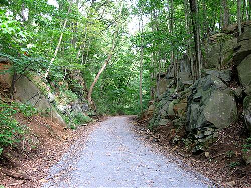 Conewago Recreation Trail Carved Rocks scenes change every mile of the trail...