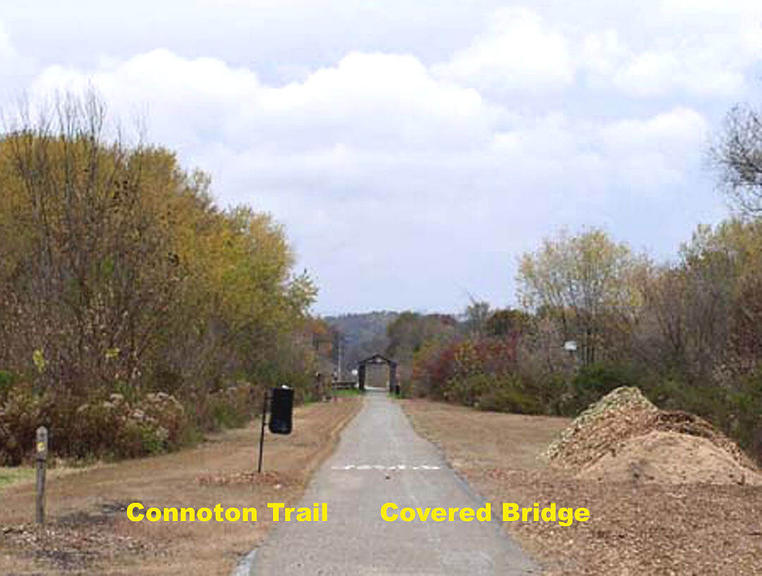 Conotton Creek Trail Coverd Bridge