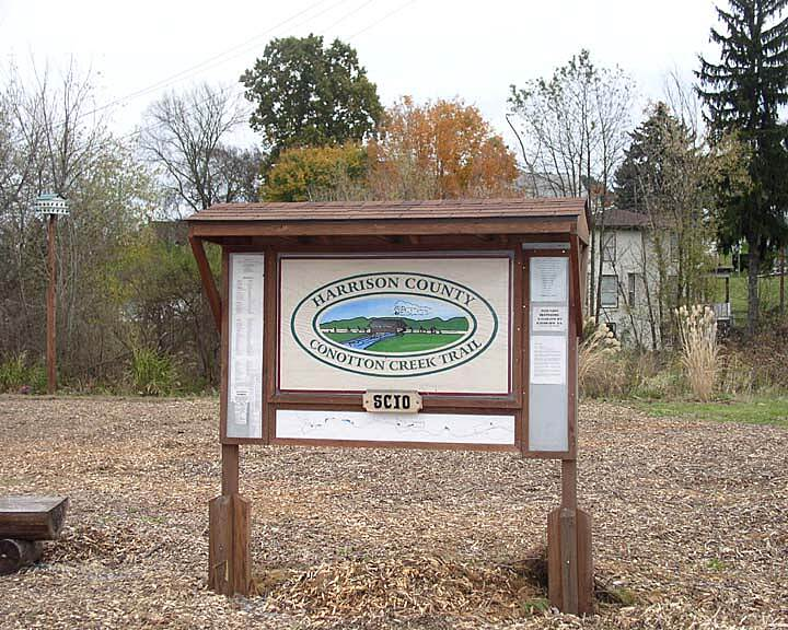 Conotton Creek Trail Plaque