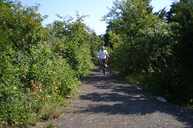 Corson's Inlet Rail Trail Carson's Inlet Trail