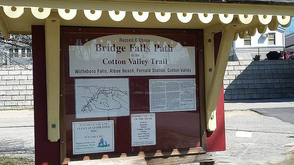 Cotton Valley Rail-Trail Beauty of NH Loving life
