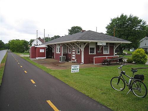 County Line Trail (OH) MM0 - Old Rittman Depot Looks like restaurant is only open for bfast and lunch