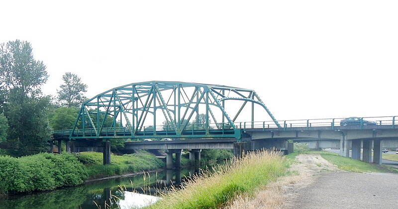 Coweeman River Trail Bridges  S Kelso Dr Bridge, and the I-5 Bridge