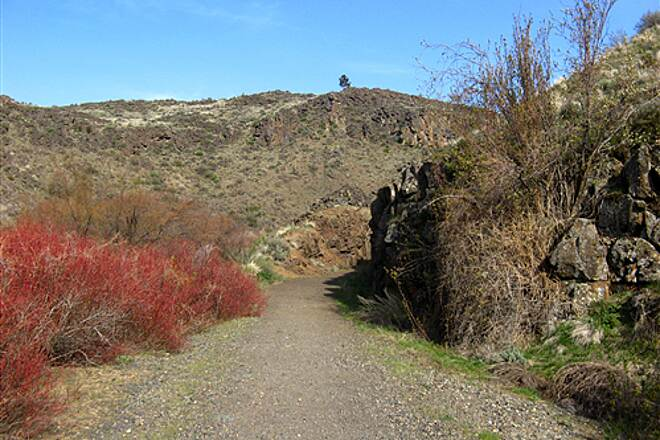 Cowiche Canyon Trail  April, 2008