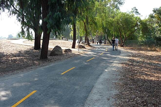 Coyote Creek Trail (San Jose) Along Stonegate Park The trail system links parks and open space