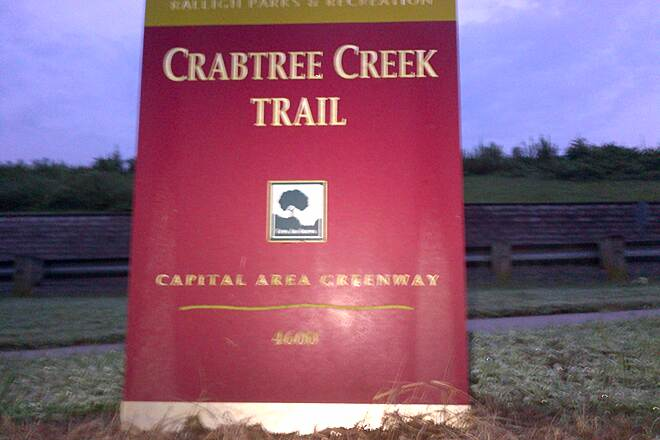 Crabtree Creek Trail Crabtree Creek Trail* Corner of Creedmoor rd & Crabtree Valley ave Great trail. Stayed in a hotel close by and this was a great running trail.