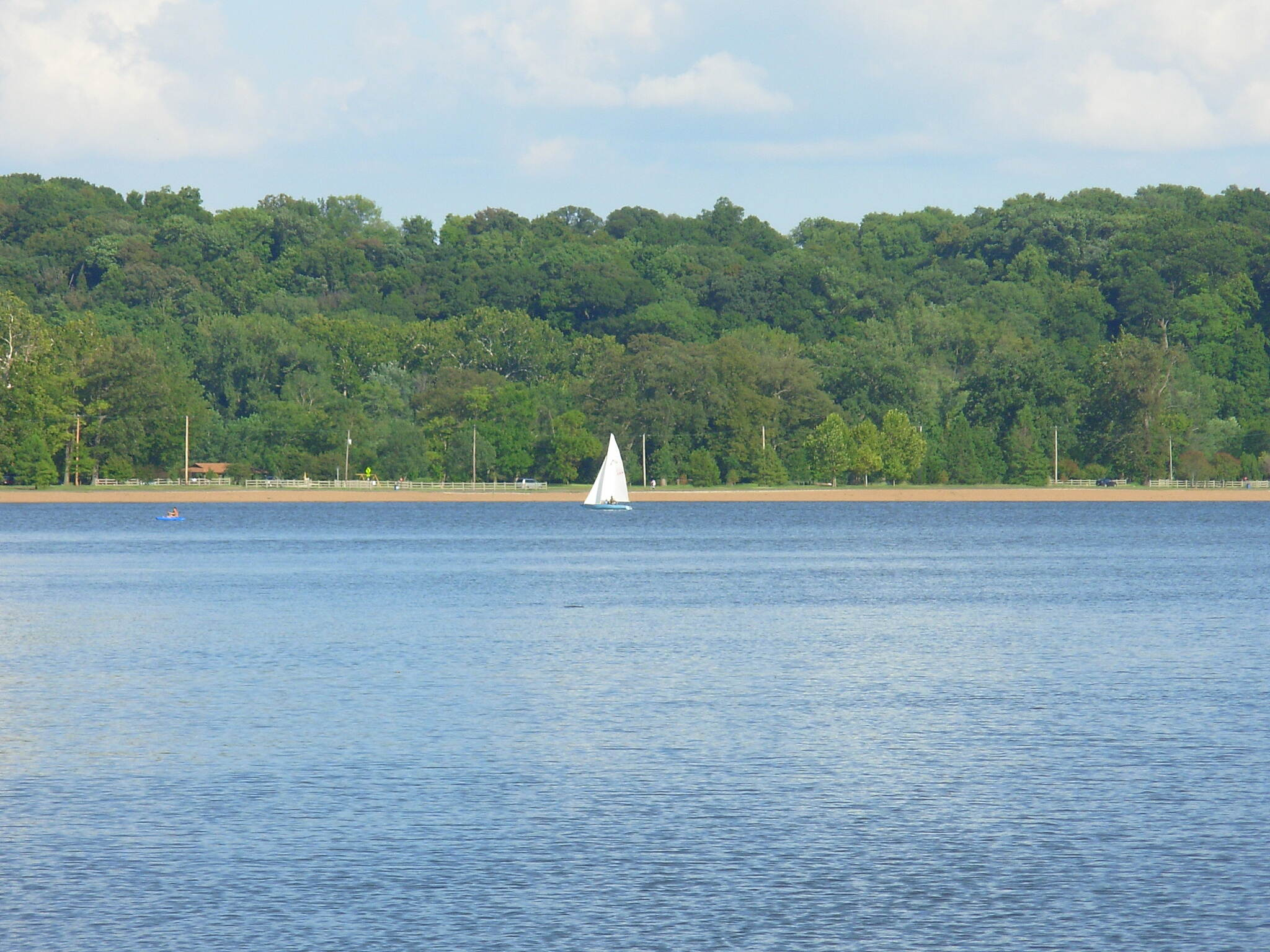 Creve Coeur Park Trails Sailboat