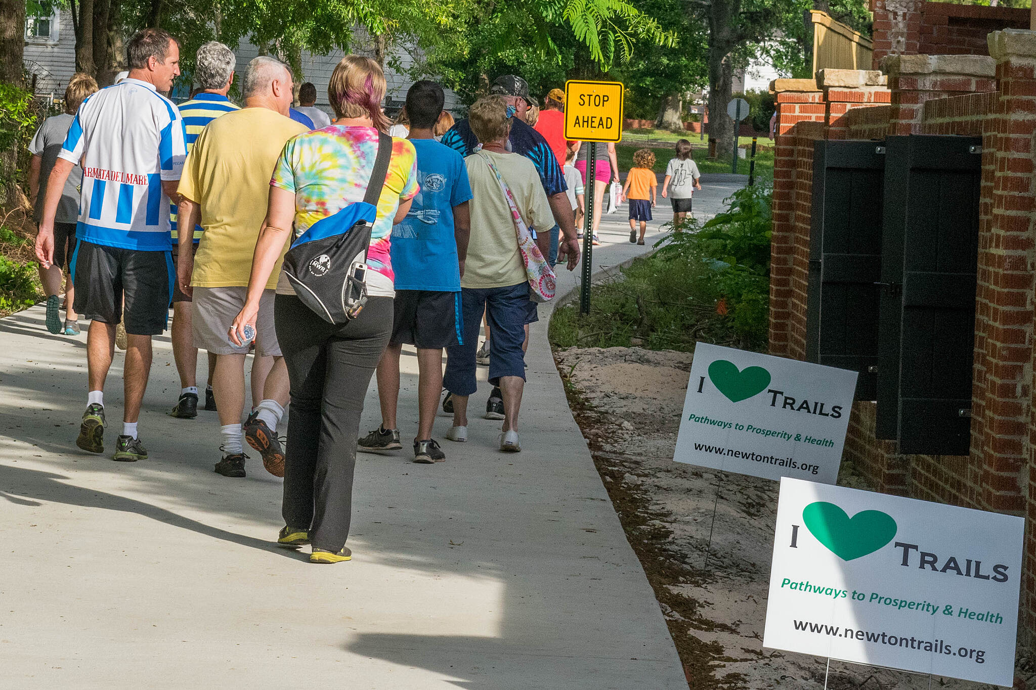Cricket Frog Trail Every Body Walk Newton County The trail's official ribbon cutting in May capped the 2017 walk series sponsored by Piedmont-Newton Hospital.