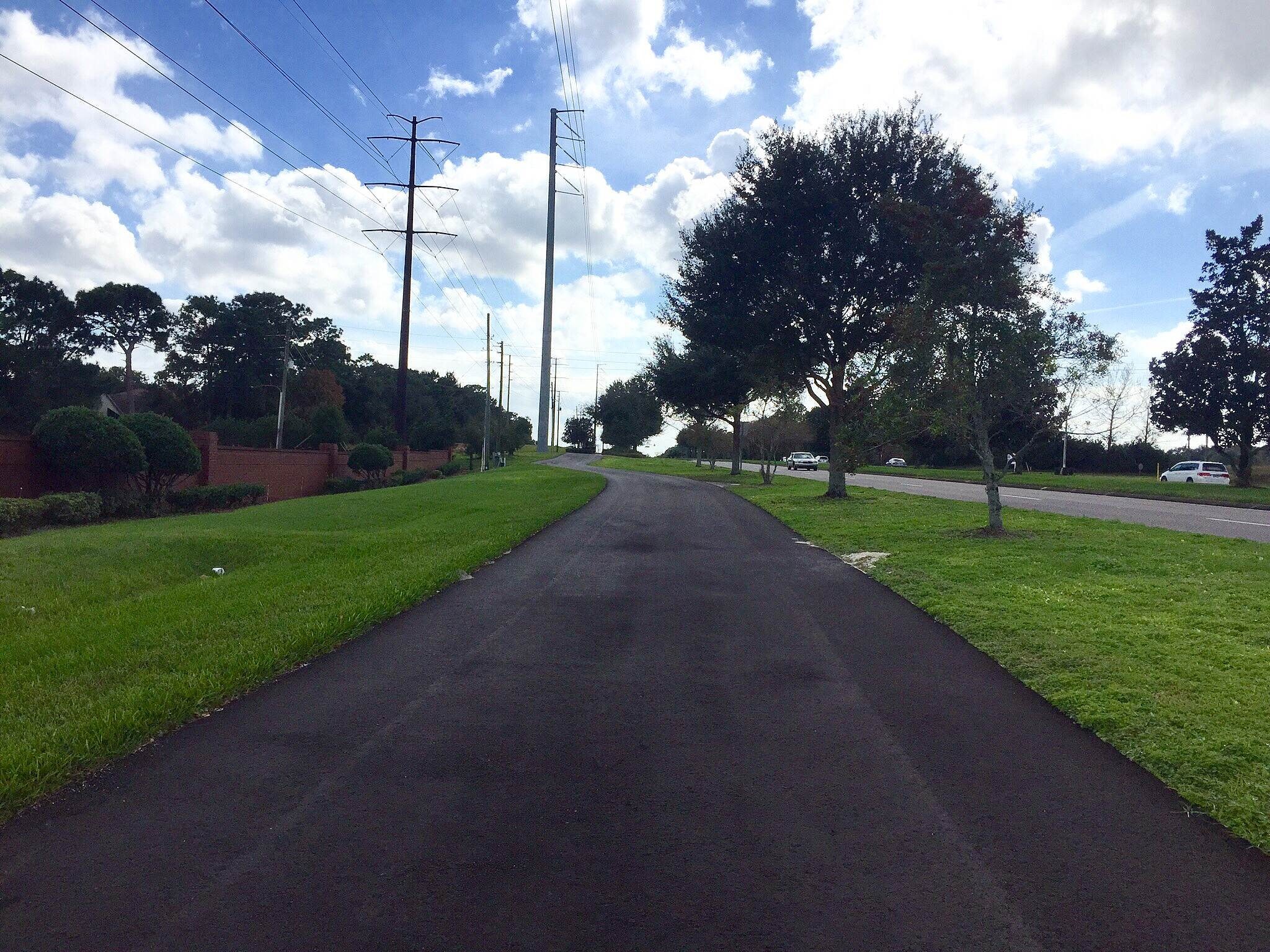 Cross Seminole Trail Excellent Pavement