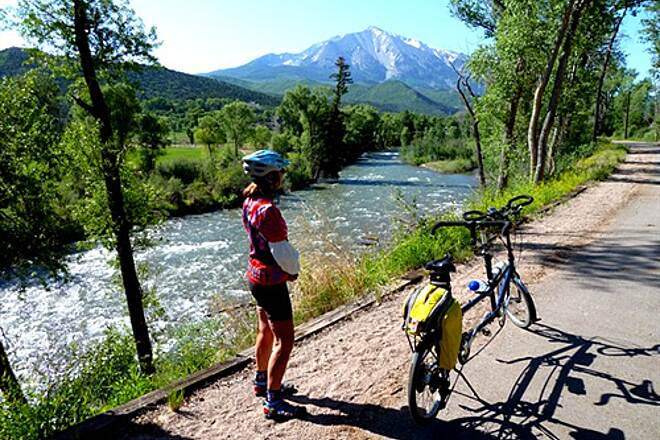 Crystal Valley Trail  Crystal River and Mt. Sopris