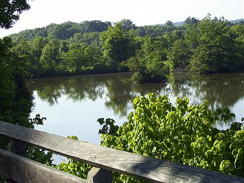 Cumberland River Bicentennial Trail   Another View from trestle Another view of Cumberland river from trestle