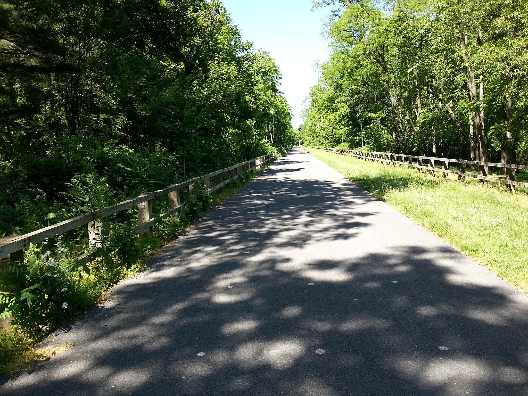 Cumberland Valley Rail Trail Beginning of trail in Newville