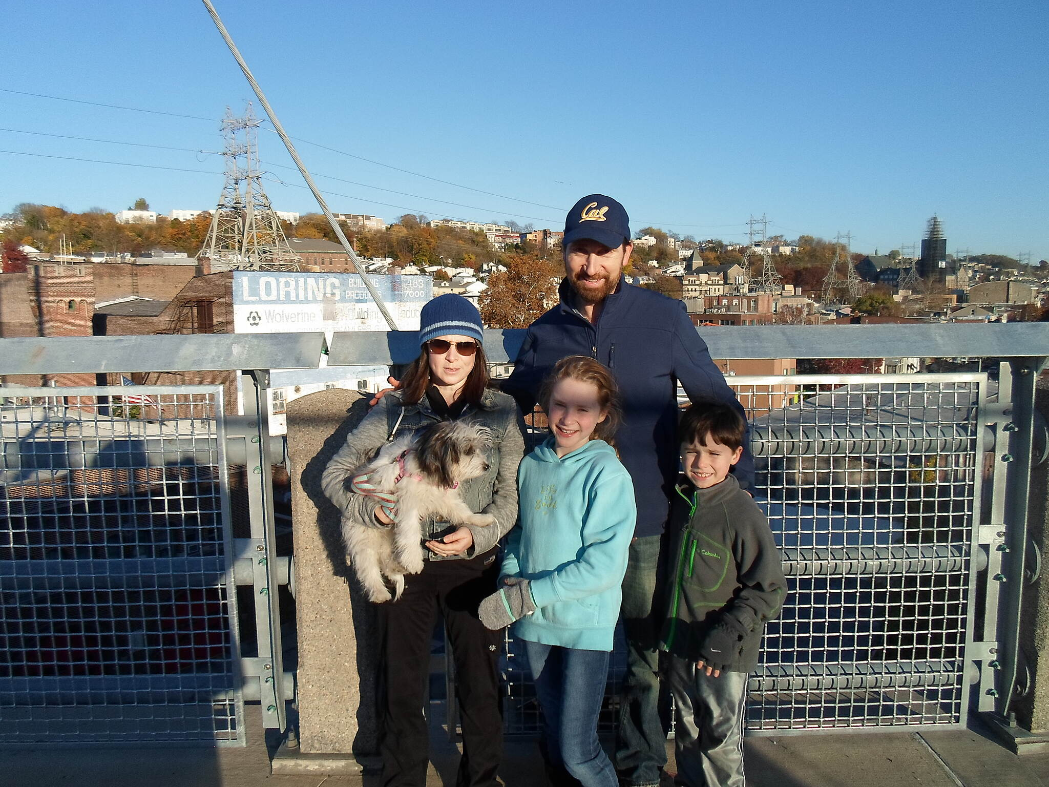 Cynwyd Heritage Trail Cynwyd Heritage Trail This family was enjoying an afternoon walk on the bridge. Manyunk can be seen in the background. Taken Nov. 2015.