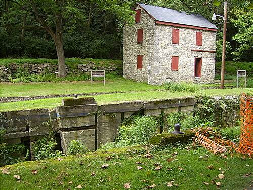 D & L Trail - Lehigh Canal South Freemansburg Locktenders House Freemansburg Locktenders House