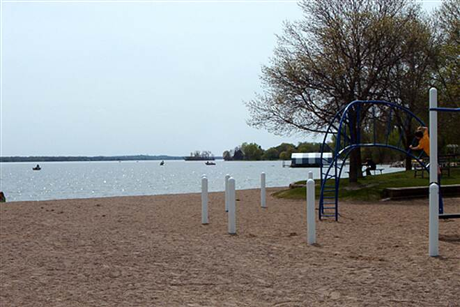 Dakota Rail Regional Trail Swimming Beach Beach located at Wayzata Trailhead.