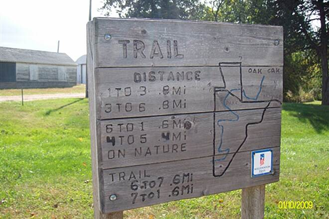 Dannebrog Trail Dannebrog Hike & Bike Trail Trail Map