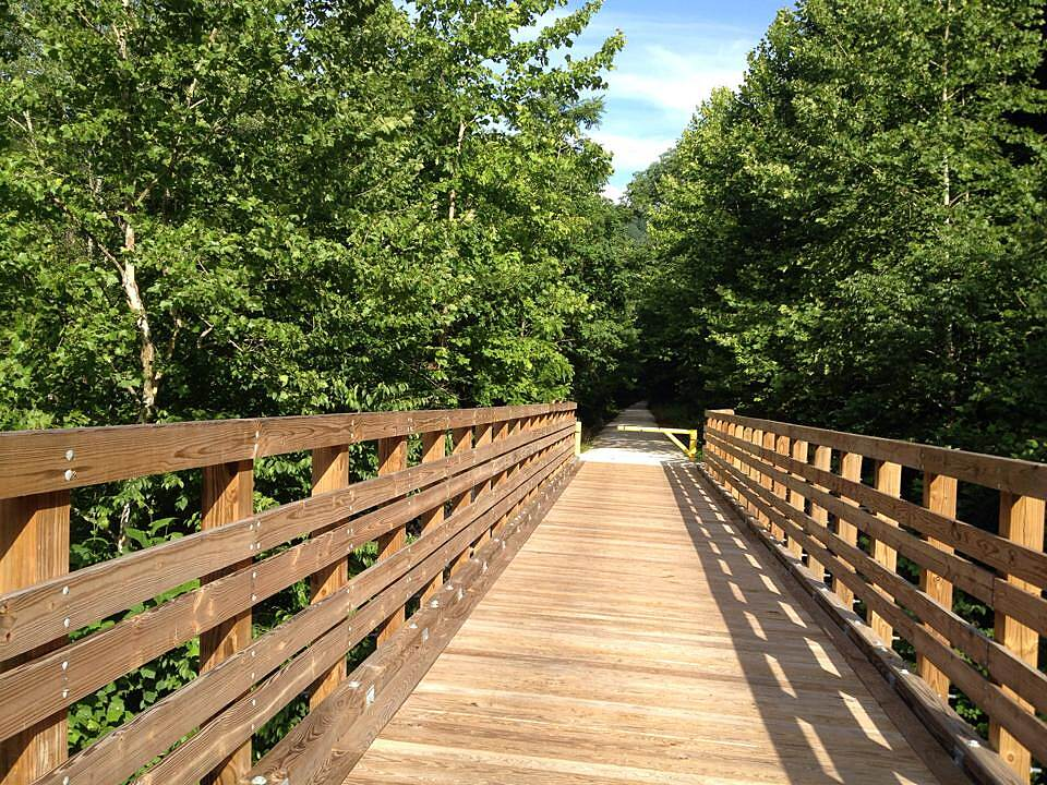 Dawkins Line Rail Trail Beautiful bridges There are several of these along the path