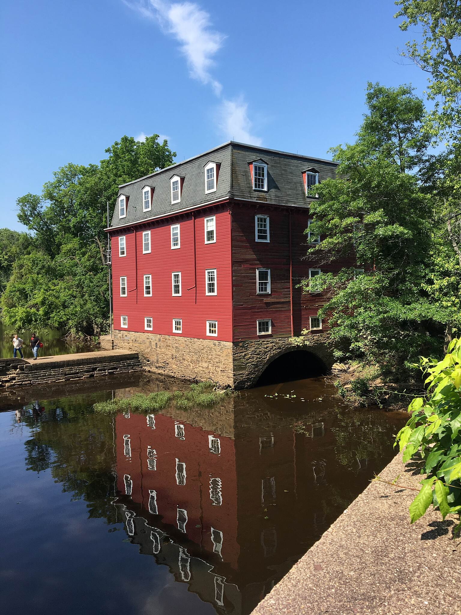 Delaware and Raritan Canal State Park Trail Lock house Lock house
