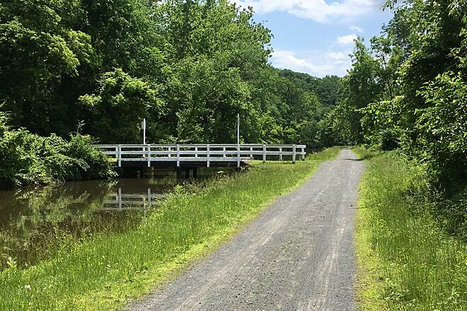 Delaware and Raritan Canal State Park Trail Favorite trail Quiet morning on the D&R