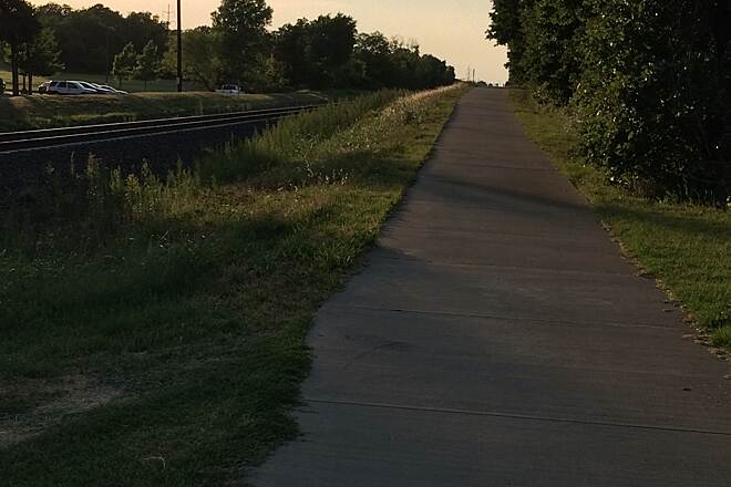 Denton Branch Rail Trail Denton Branch Rail Trail	 Photo submitted by TrailLink user maribelv78