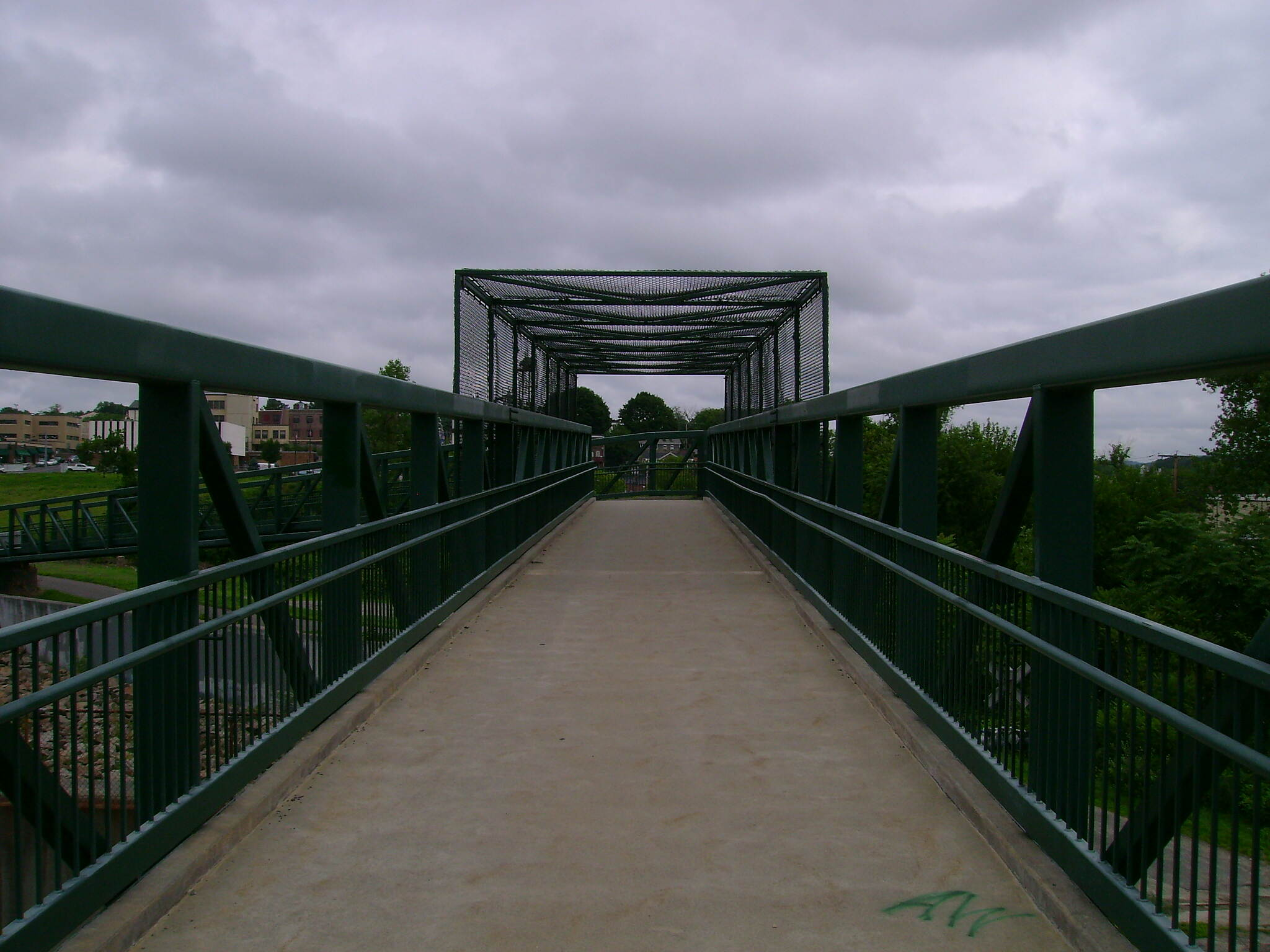 Derby Greenway Footbridge on the Derby Greenway