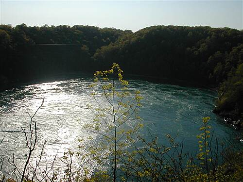Devil's Hole Trail A view of the Niagara Whirlpool from The Rim Trail