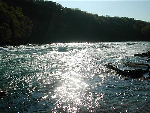 Devil's Hole Trail A view of the Niagara Whirlpool from Water Level