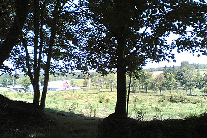 D&H Rail Trail Bucolic Farm View - 009 This was gorgeous. The photo does not do the view justice.
