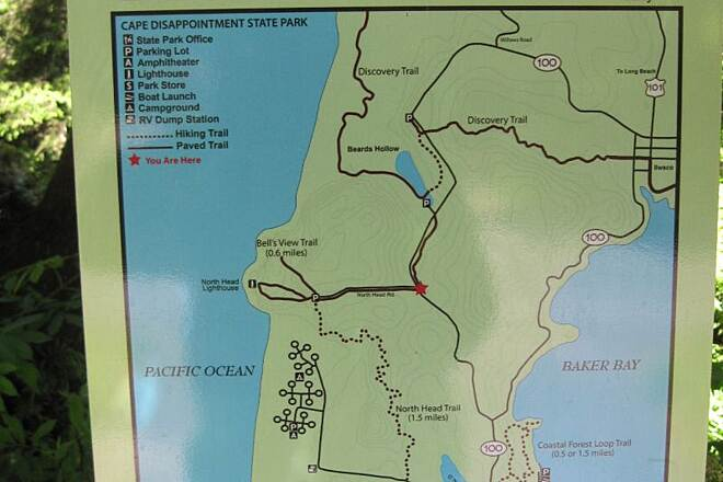 Discovery Trail DISCOVERY TRAIL EXTENSION Handy map for the extension