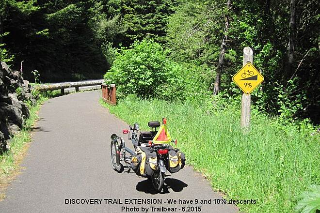 Discovery Trail DISCOVERY TRAIL EXTENSION Now, for a nice screaming descent.