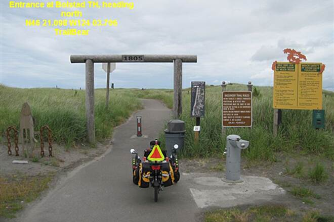 Discovery Trail THE DISCOVERY TRAIL Heading north from Bolstad trailhead