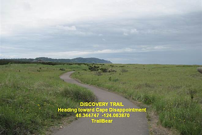 Discovery Trail THE DISCOVERY TRAIL Heading south