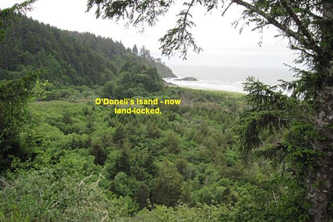 Discovery Trail THE DISCOVERY TRAIL O'Donell's island, now inland.