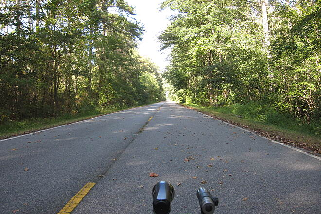 Dismal Swamp Canal Trail (VA) October Recumbent Trike Ride