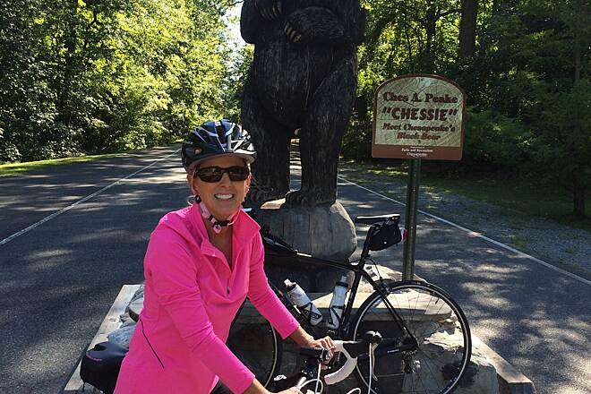 Dismal Swamp Canal Trail (VA) it's a bear