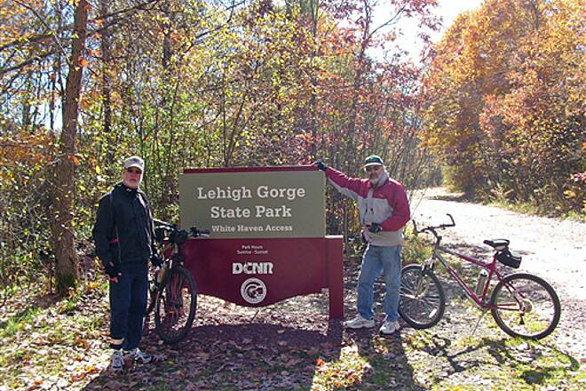 D&L Trail   Trail Head