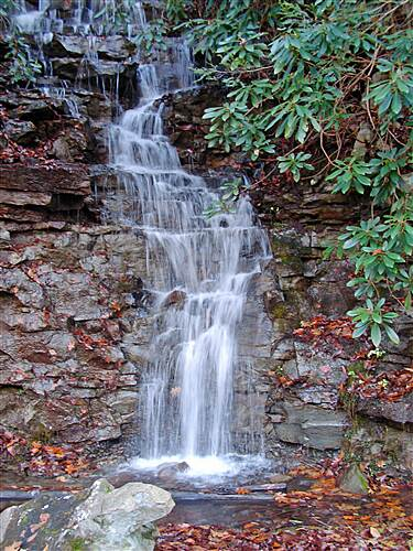 D&L Trail   Waterfall