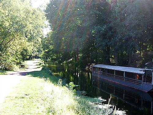 D&L Trail September 2010 canal boat