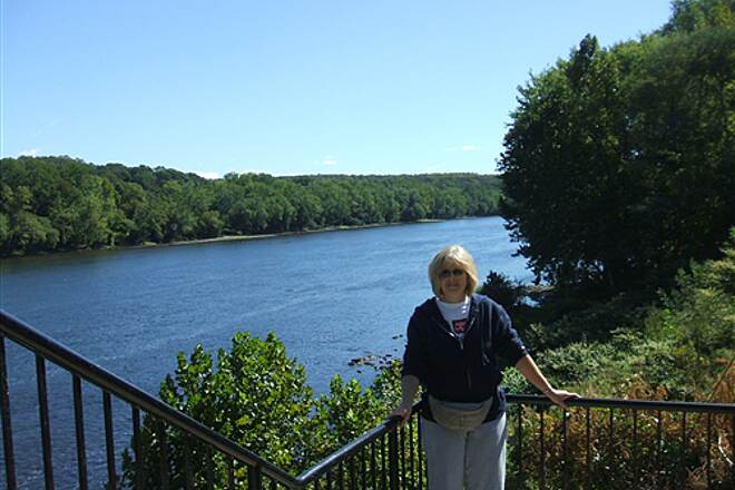 D&L Trail September 2010 Delaware River