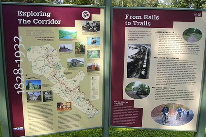 D&L Trail From Rails to Trails From Rails to Trails - Thank You DCNR!