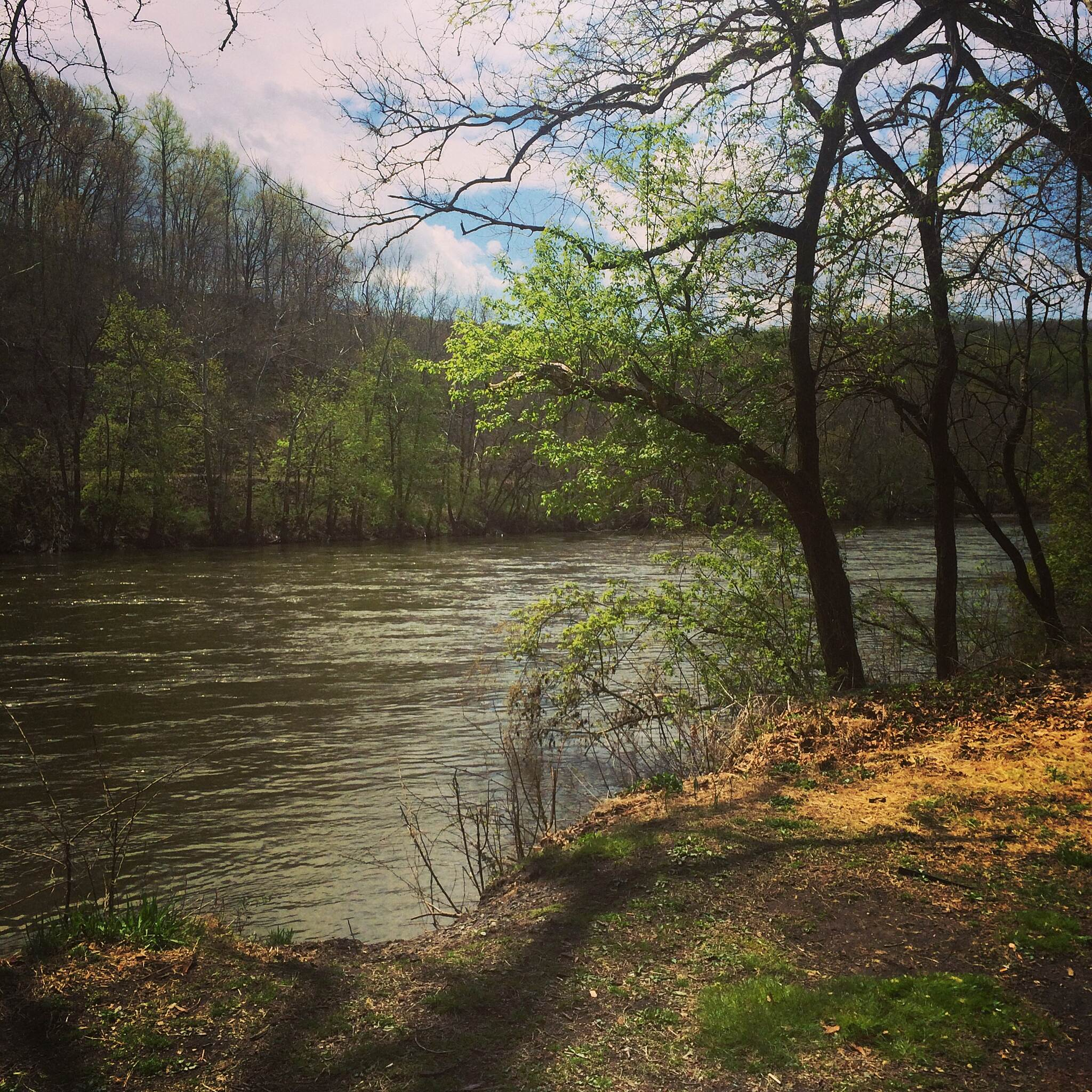 D&L Trail D and L Lehigh river trail Just a beautiful day in May!!