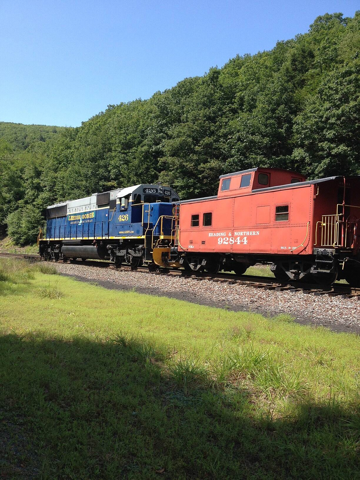 D&L Trail Train