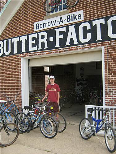 Douglas State Trail  Borrow a Bike at the Butter Factory in Pine Island