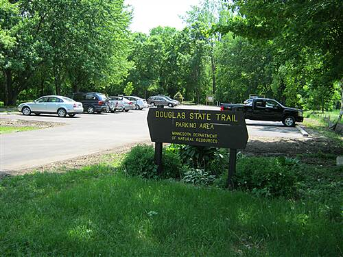 Douglas State Trail  Trail head in Douglas