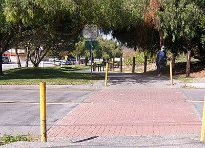 Duarte Recreational Trail BRICK STREET CROSSINGS THE MAN SAID THE MASK WAS FOR ALLERGIES