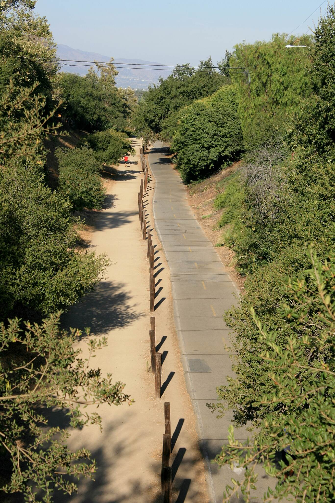 Duarte Recreational Trail DBT from Mr. Bradbury's Bridge