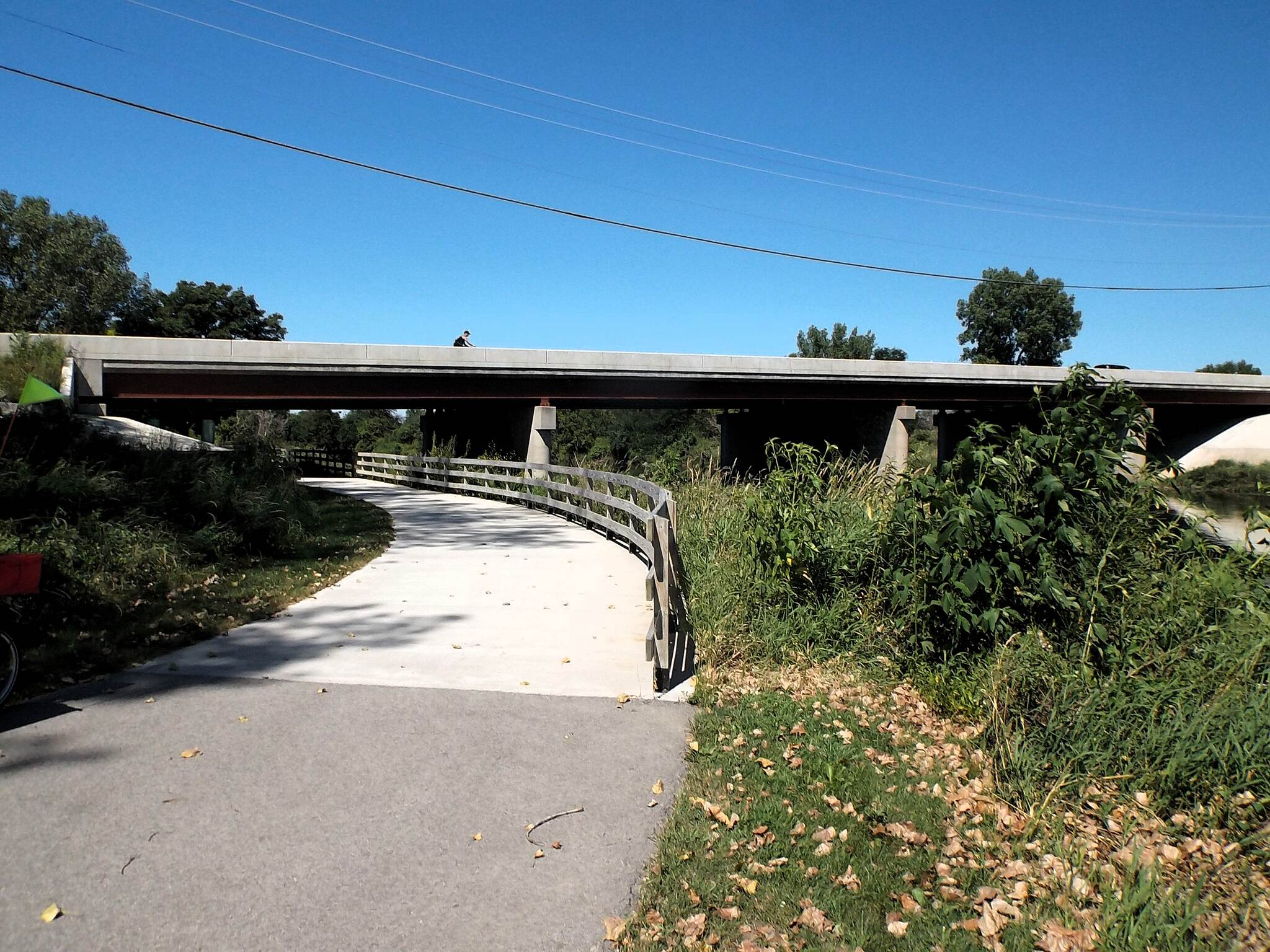 DuPage River Trail Under Black Road Joliet / Shorewood