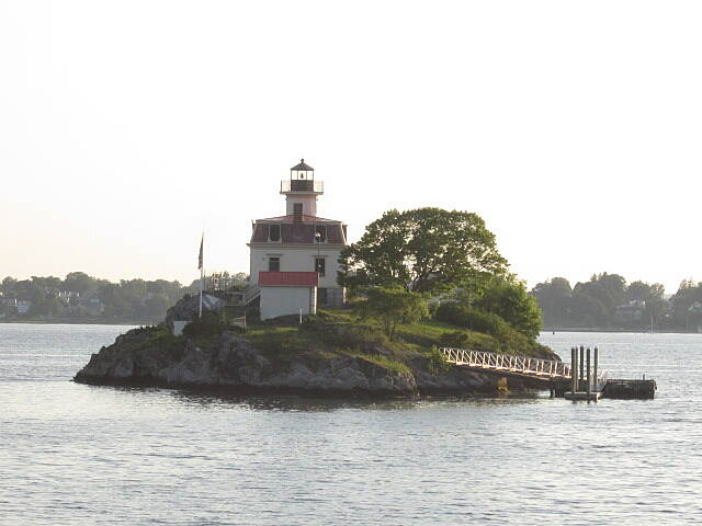 East Bay Bike Path Pomham Rocks Lighthouse